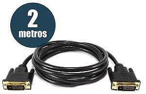 CABO DVI 24+1 X DVI 24+1 2MTS CHIP SCE 018-9557