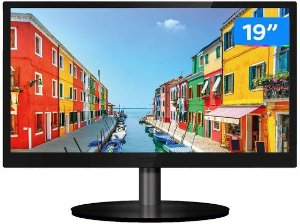 MONITOR LED 19 PCTOP MLP19HDMI PRETO