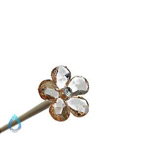 Vareta Para Difusor de Ambiente Florzinha Champanhe