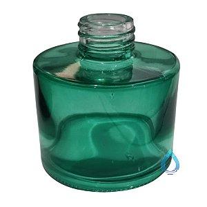 Frasco Redondo Verde 100 Ml para Difusor 28/410