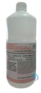 Álcool de Cereais 96º Extrafino 01 Litro