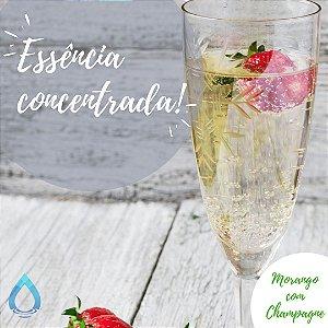 ESSÊNCIA MORANGO COM CHAMPAGNE 100G