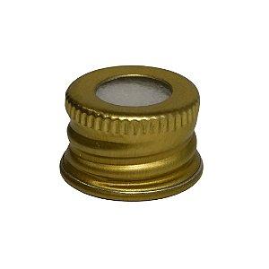 Tampa Alumínio Ouro 18/410