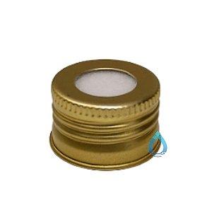 Tampa Alumínio Ouro 28/410 para difusor de Ambiente