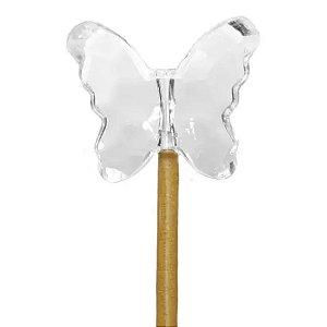 Vareta Borboleta Cristal