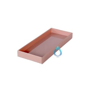 Caixa De Lavabo Pequena Rosa