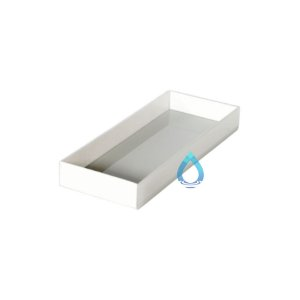 Caixa De Lavabo Pequena Branca