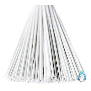 Vareta de Fibra Branca para Difusor de Ambiente 4 mm x 25 cm - Unidade