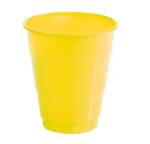 Copo Festcolor Colorline Amarelo 210ML