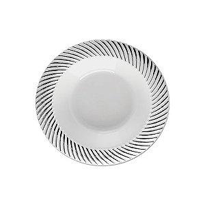 Prato Sobremesa Silverplastic 6X1