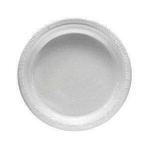 Prato Silverplastic Branco 23X23 10X1