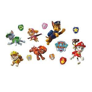 Mini Personagens Decorativos Patrulha Canina 13 Unidades