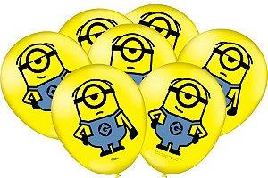 Balão Festcolor Meu Malvado Favorito 9'' 25X1