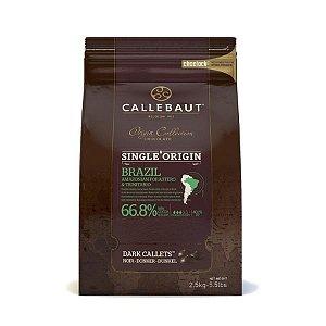 CHOCOLATE DE ORIGEM GOTA AMARGO 66,8% 2,5KG (CHDQ68BRAT68) CALLEBAUT