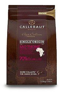 Chocolate Callebaut Amargo 70% Cacau São Tomé 2,5KG