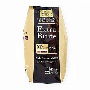 Chocolate Em Pó Callebaut Extra Brute 100% 1KG