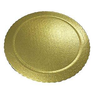 Prato Ultrafest Laminado Dourado 32CM