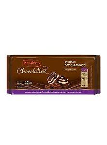 Chocolate Mavalério Meio Amargo Profissional 1,01KG