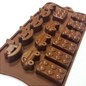 Forma Silicone Para Chocolate Prime Chef 23,2X10,6CM