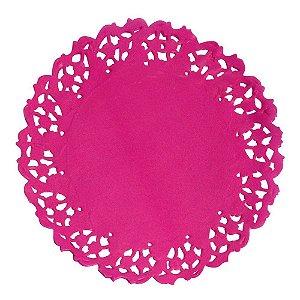 Renda De Papel Anti Gordura Mago Pink 50X1