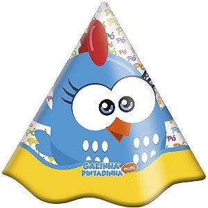 Chapéu Aniversário Galinha Pintadinha 8X1