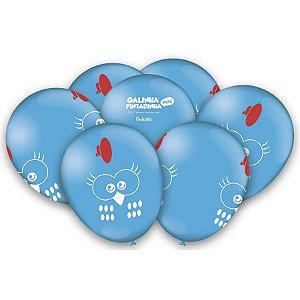 Balão Látex Galinha Pintadinha 9'' 25X1