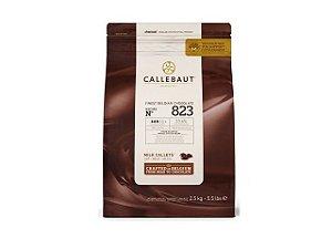 Chocolate Callebaut Gota Ao Leite 823  2,5KG