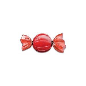 Papel Chumbo Carbex Para Bombons Vermelho 10X10CM 300 Folhas