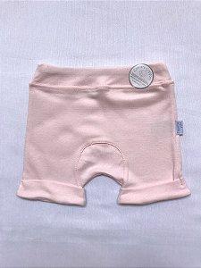 Short Básico Rosa Bebê