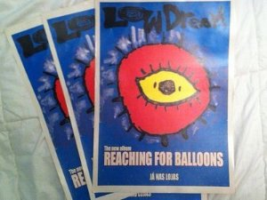 Low Dream - Reaching for balloons (poster)
