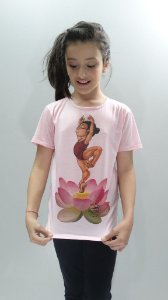 Camisa Infantil - 013-DN Flor
