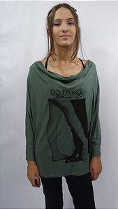 Blusa Drapeada Frente Eire - 072-Dança de Salão II
