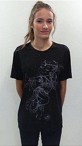 Camisa Básica Preta - 300- DN DANÇA ÁRABE