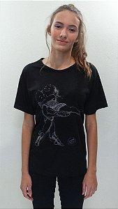 Camisa Básica Preta - 299- N&H SPARTACUS DESENHO