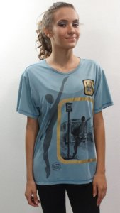 Camisa Básica Azul Turquesa - 084-DT BUS STOP 2