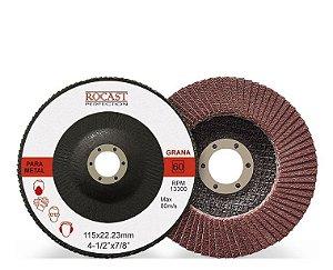 Disco de Lixa Flap - ROCAST PERFECTION  115x22