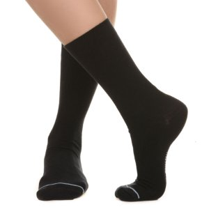 MEIA SOCKS ON THE BEAT - BASEKICKS BLACK