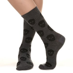 MEIA SOCKS ON THE BEAT - SKULL GRISS