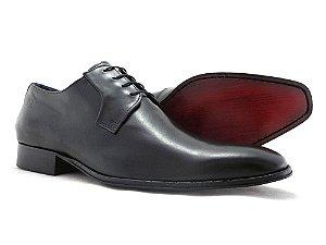 Sapato De Couro Liso Social Barcelona Design