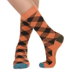 MEIA SOCKS ON THE BEAT - LUMBER JACK GINGER