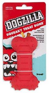 Brinquedo Dogzilla Squeaky Treat Bone