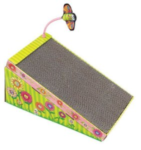 Arranhador Fatcat Big Mama's Scratch 'n Play Ramp