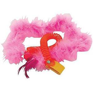 Brinquedo JW Gatos Featherlite Springy