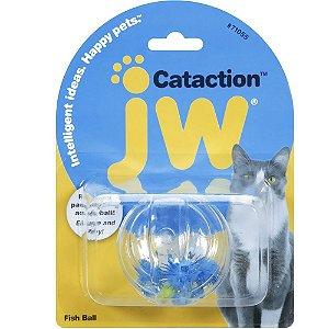 Brinquedo JW Gatos Fish Ball