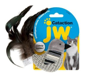 Brinquedo JW Gatos Bird Black and White