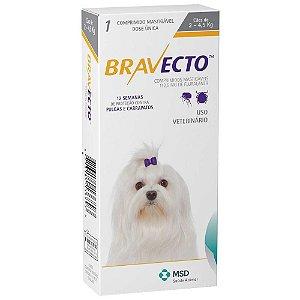 Antipulgas Bravecto 112,5mg - Cães de 2-4,5 Kg