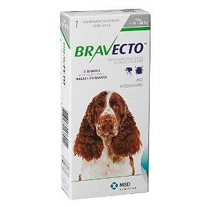 Antipulgas Bravecto 500mg - Cães de 10-20 Kg