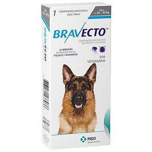 Antipulgas Bravecto 1000mg - Cães de 20-40 Kg