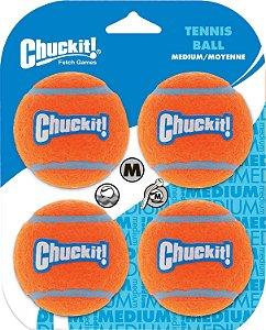 Bola de Tenis Chuckit!  - Pack c/ 4 - M