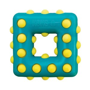 Brinquedo Kong Dotz Quadrado com Apito
